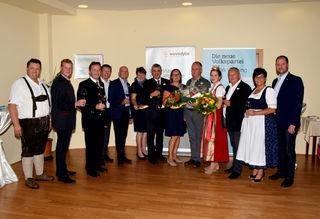 ÖVP-Prominenz aus dem Nord-, Mittel- und Südburgenland kam zur Bezirksweinkost ins Gasthaus Legath in Strem.