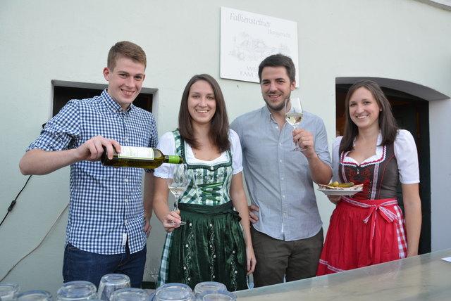 Felix Luckner, Cornelia Richter, Simon Bayer und Tanja Richter