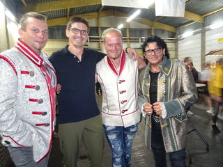 Jürgen Lang und die Musiker