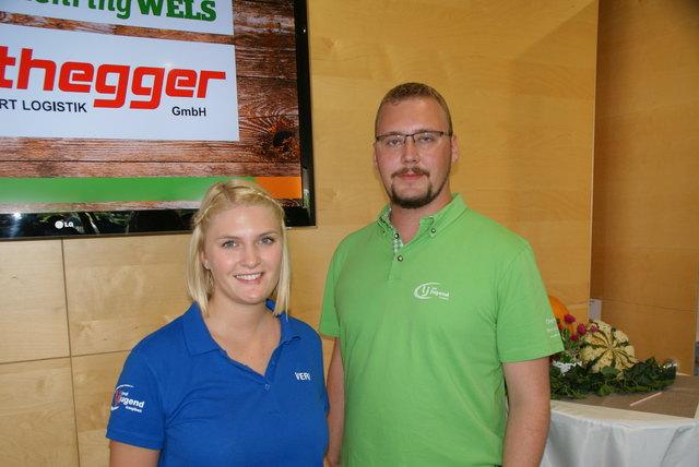 Veri und Florian Landjugend