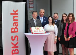 BKS Bank-Filiale im Karawankenweg in Villach feierte 30jähriges Jubiläum.