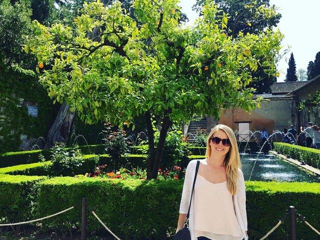 Lebt seit fünf Jahren in Valencia: Natalie Raab.