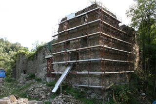 Die Ruine Falkenstein wurde als Objekt auserkoren.