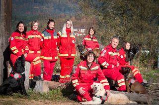Die Mitglieder der Österreichischen Rettungshundebrigade, Staffel Gailtal, sind stets im Einsatz für Vermisste
