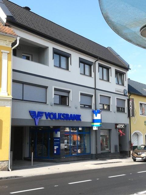 Am 12. Oktober ist der letzte Öffnungstag der Volksbank-Filiale am Hauptplatz.