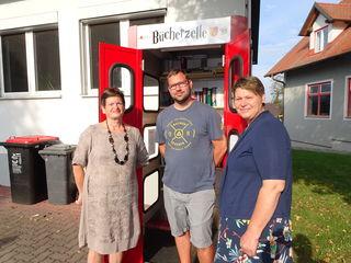 Eveline Wilfinger, Bernd Laschet und Andrea Reichl.