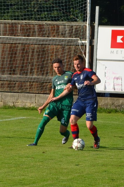 Ilztals Dominik Jakob traf am Wochenende zum 3:0 Sieg und seine Mannschaft feierte den fünften Sieg in Serie.