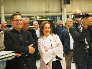 Auch Hans Moser (WKO Grieskirchen) und Angelika Sery-Froschauer (WKO OÖ) ließen sich die spannenden Talkrunden nicht entgehen.