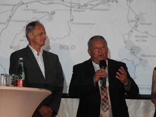 Rudi Strommer hob die Wichtigkeit der Zusammenarbeit hervor.