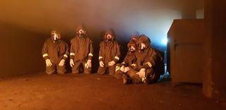 Die Mitgiieder der FF Bruckneudorf nahmen an einer Ausbilung teil