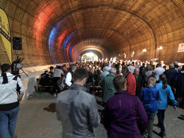 Tag des offenen Tunnels im Brenner Basistunnel