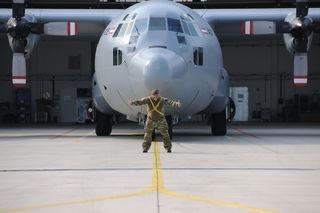 """Eine """"Hercules Maschine C 130"""" will der Tamsweger ziehen."""