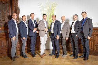 Jens Weiss, Erwin Wassler, Lars Hensen, Thomas Lorber, Frank Gleitz, Franz Rauch, Rolf Menne, Peter Krainer
