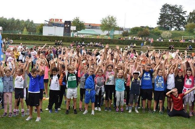 Die Kinder zeigten sich vom Angebot am Tag des Sports begeistert.