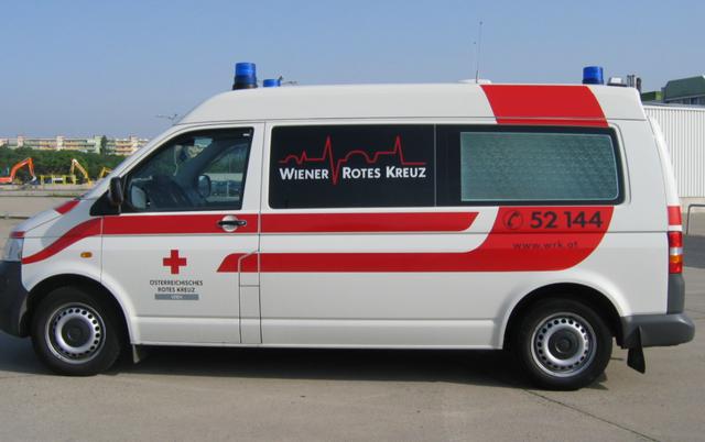 """Das Rote Kreuz in Neunkirchen hat es mit Wiener """"Keilern"""" zu tun."""