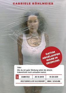 Das neue Programm der Schauspielerin Gabriele Köhlmeier verspricht - wie schon die vielen Programme zuvor - zu einem bissig-bösen, äußerst unterhaltsamen Schauspiel über die Rolle der Frau zu werden.
