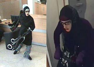 Der Mann versuchte in Floridsdorf eine Bank in Frauenkleidern zu überfallen.