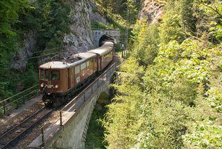 Auch der Nostalgiezug Ötscherbär macht sich am Samstag und am Sonntag auf den Weg zum Dirndlkirtag