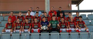 Die U17 des Fußballcollege Leibnitz ist nach drei Runden ungeschlagen an der Tabellenspitze.