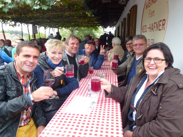 Am Samstag, dem 29. September, geht das Uhudlersturmfest im Heiligenbrunner Kellerviertel um 11.00 Uhr los.