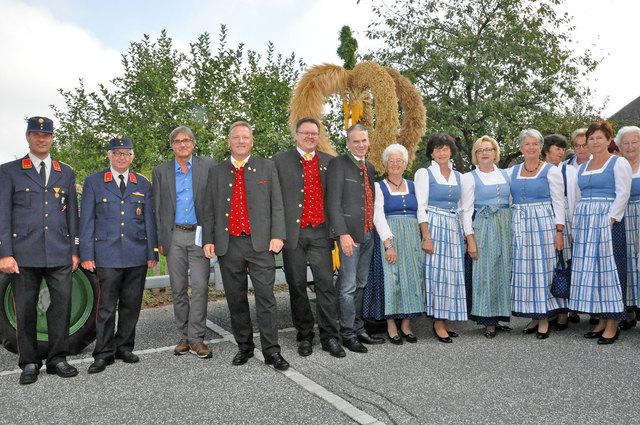 Zahlreiche Besucher waren beim traditionellen Fest mit dabei