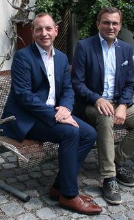 Michael Gierlinger und Georg Ecker.