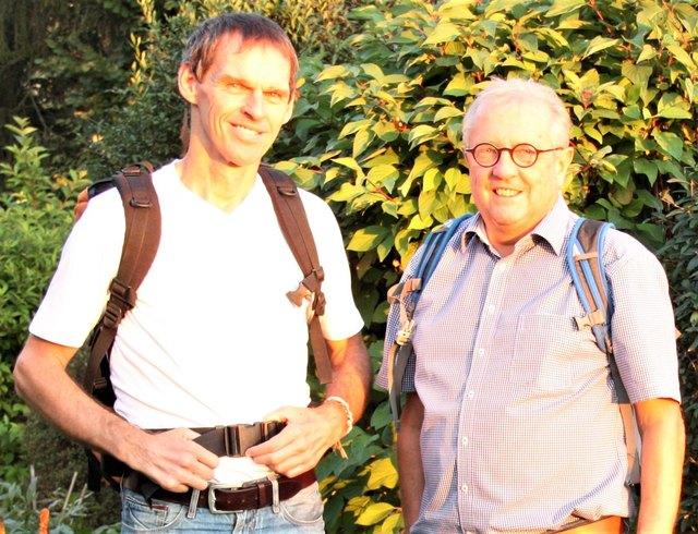 Von links: Thomas Pflügl, Manfred Edelbauer.