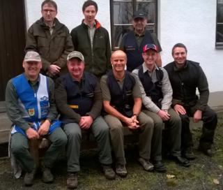 vorne links   Günther Maier, Andreas Ratschbacher, Günter Grüner, Klaus Wagner, Matthias Pritz, hinten links Gerald Stieger, Stefan Haslinger, Ewald Petz