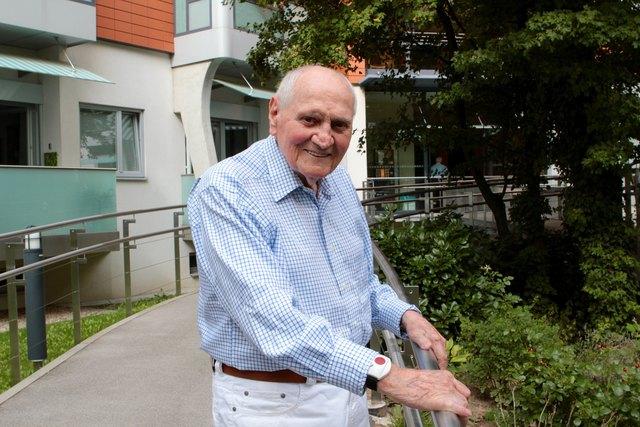 Johann Schafhauser hat in seinen hundert Lebensjahren viel erlebt.