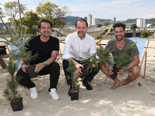 Sandburg-Aktion 'Lasst uns Bäume pflanzen!'