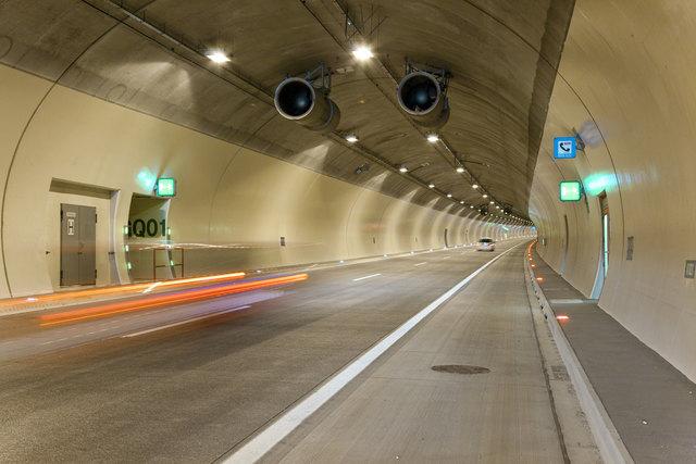 Die Tunnelkette Tradenberg, Stetten und Kreuzenstein wird im September und Oktober gewartet und gereinigt.