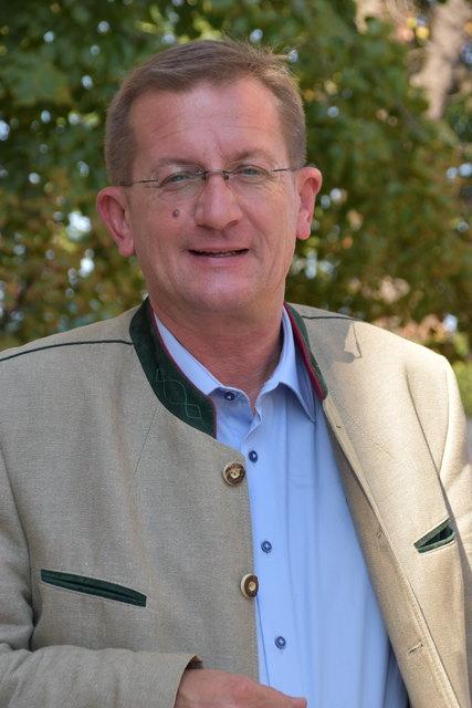 Dieter Dorner, neuer FPÖ-Bezirksparteichef.