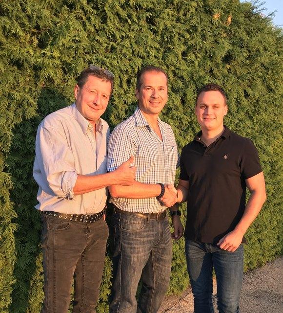FPÖ-Fraktionsobmann Gerhard Schultz, Peter Pichler und FPÖ-Bezirksobmann Andreas Bors