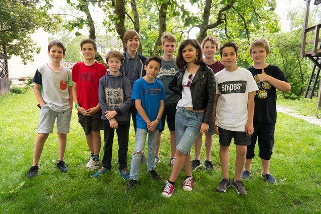 Teilnehmer der NÖ Filmakademie Klosterneuburg