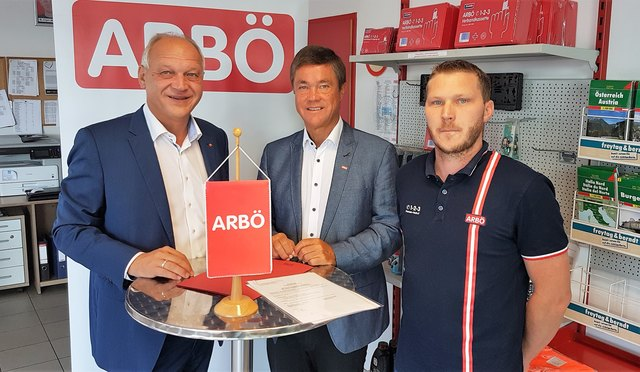 Wolfgang Sodl, Peter Rezar, Jürgen Janisch