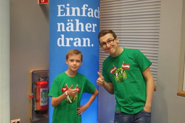 Meet and Greet Gewinner Ben Petras mit Chaosflo44.