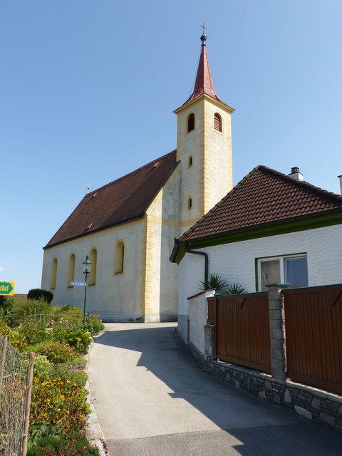 Die Zukunft der Mühlsteinbrecher errichtete auch die Filialkirche in Wallsee, die St.Anna - Kapelle.
