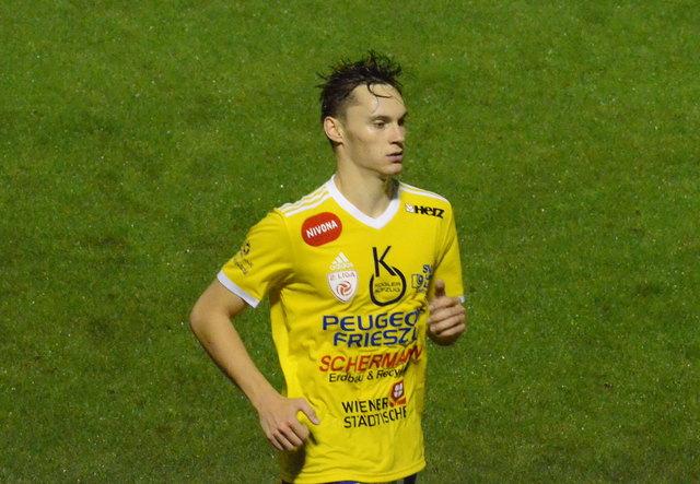 Maximilian Entrup schoss sich mit zwei Toren in die Herzen der Lafnitz Fans.