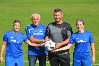 Neuer Trainer: Susanna Koch-Lefevre, Alfred Weber, Rene Mahlknecht und Stefanie Koch-Lefevre