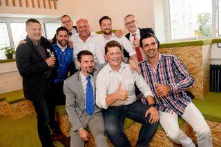 Das Management-Team des Klagenfurter Unternehmens Symvaro, Rudolf Ball, Philip Kozeny und Gernot Fleiss, lud zur Eröffnung ihres neuen, größeren Büros in der Hasnerstraße