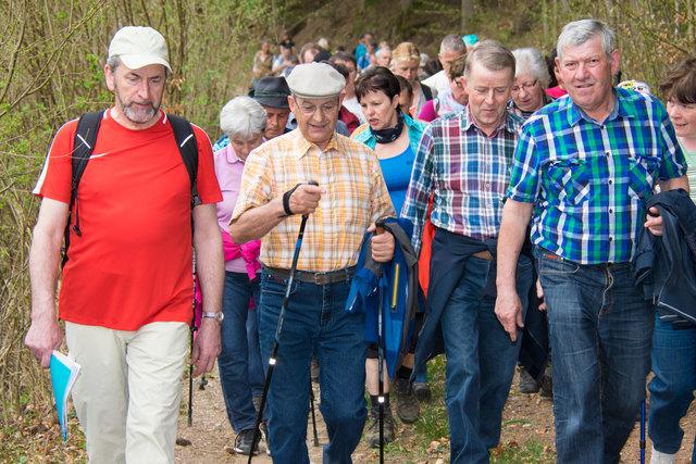 Grenzwanderung Pabneukirchen mit Wanderführer Bürgermeister Buchberger