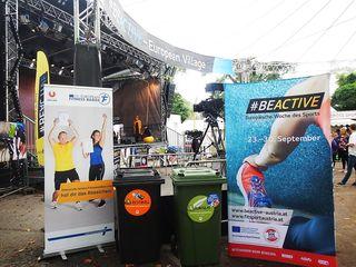 #beactive für Sport und Zero Waste