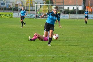 Stürmerin Celine Halper vermochte diesmal keinen Treffer beizusteuern.