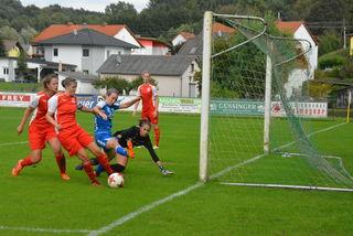 Stefanie Koch-Lefevre hatte in dieser Szene die Topmöglichkeit aufs 1:0.