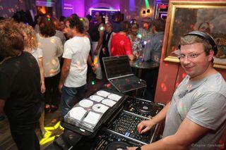 DJ Thunderhunt ließ die Musik der 80er wieder aufleben.