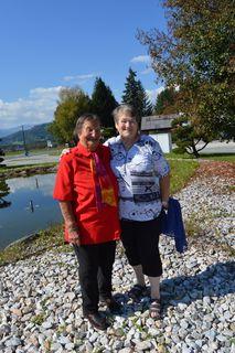 Mutter und Tochter: Bibiana Tilke (103) und Monika Hinteregger (72)