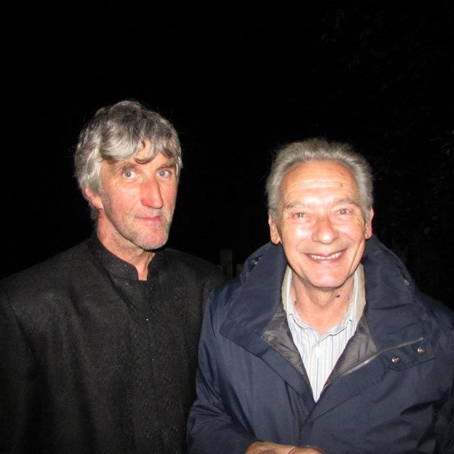 Langjährige Freunde: Felix Mitterer gratulierte Toni Wille zum Geburtstag.