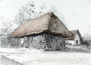 Gerhard Kisser zeigt ab Samstag seine Zeichnungen im Freilichtmuseum. Es sind , dem 29. September, im Freilichtmuseum zu sehen. Es sind