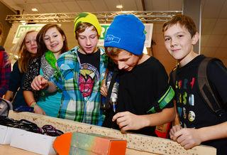 """Viele verschiedene Berufe können während der """"Jugend & Beruf"""" auf insgesamt 15.000 Quadratmetern entdeckt werden."""