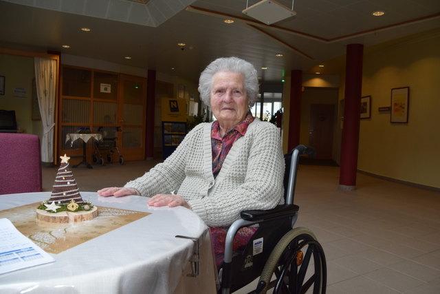 Theresia Zwanzger lebt seit 2011 im Pflegezentrum.